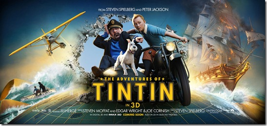 The Adventures of Tintin banner2