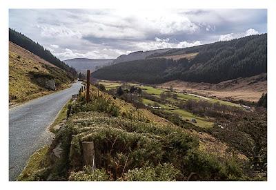 Wicklow-Mountain - die alte Militärstrasse
