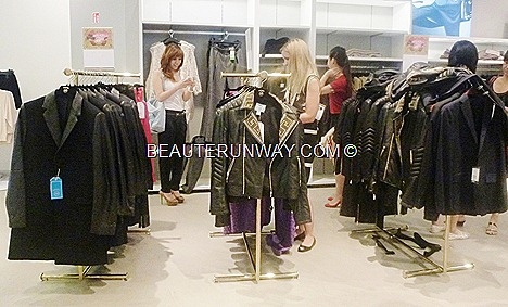 Versace H&M Singapore collection jackets leather