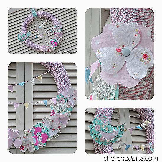 Spring Wreath Collage copy