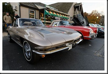 Katie's Cars and Coffee - Chevy Corvette