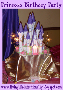 Disney Princess birthday party food and ideas