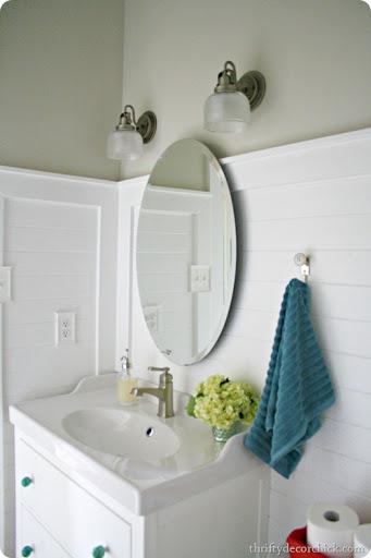 White Hemnes Bathroom Vanity Ikea