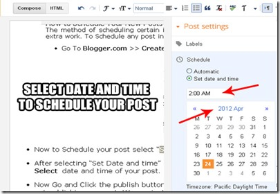 How to Schedule Posts in WordPress & Blogger to Publish