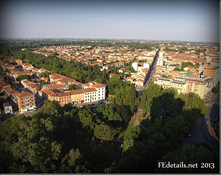 Ferrara dal Grattacielo - Ferrara from Skyscraper, Ferrara, Italy, Photo2