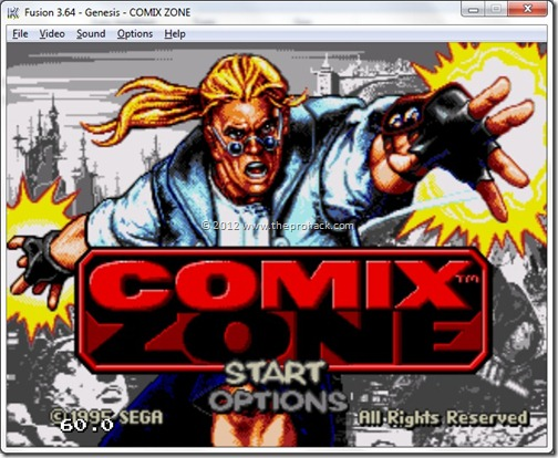 Comix Zone - Prohack