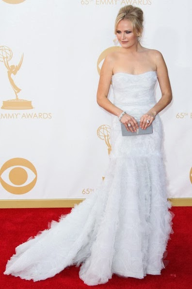 Malin Ackerman attends the 65th Annual Primetime Emmy Awards