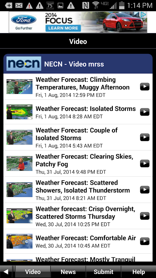 NECN WX- screenshot