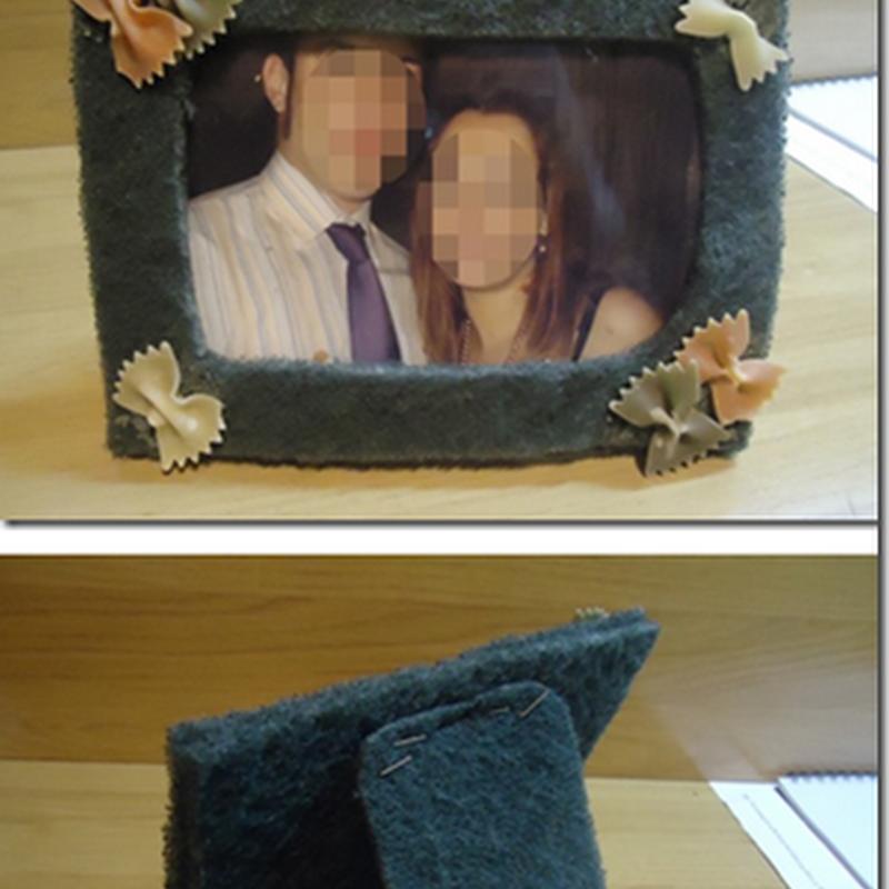 Manualidades marcos para fotos día del padre o de la madre