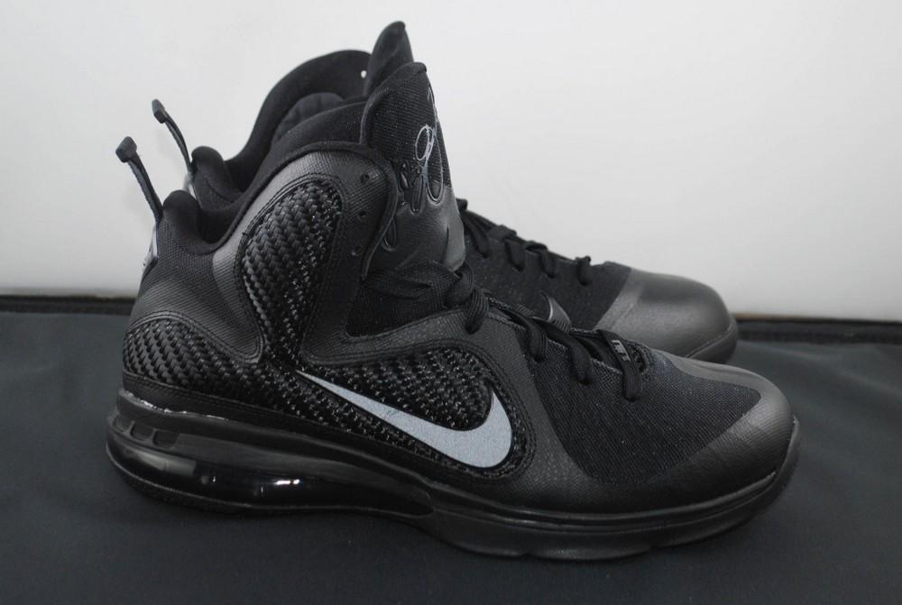 a87ee320e84 Nike LeBron 9 8220Blackout8221 8211 New Photos ...