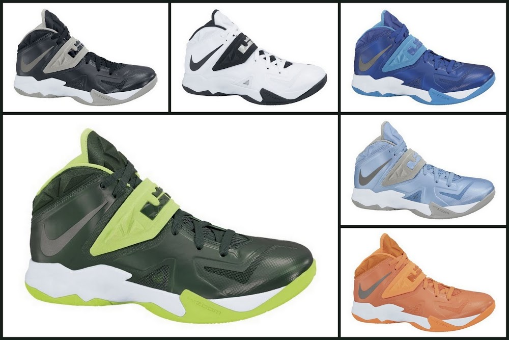 new products 4b135 20cf5 Team Bank Options For Nike Zoom Soldier VII Available at NDC ...