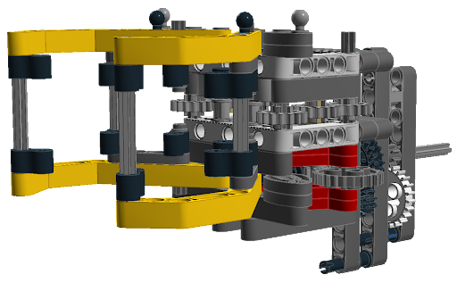 Ev3 Claw And Lift