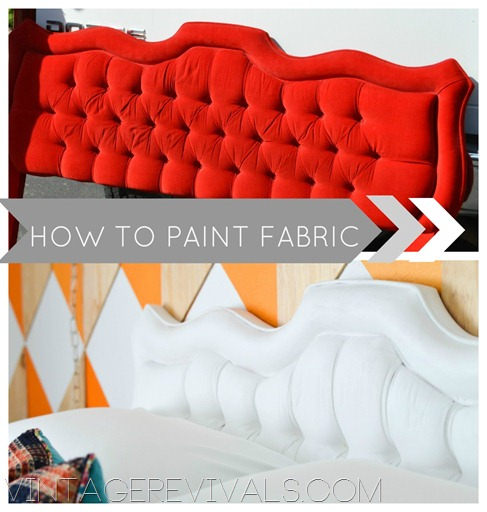 Epic Room Makeover Tufted Headboard Tutorial How To Paint Fabric