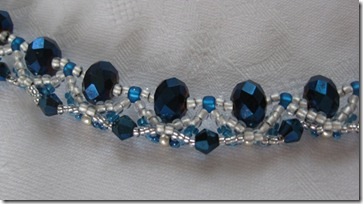 Blue necklace WS Close
