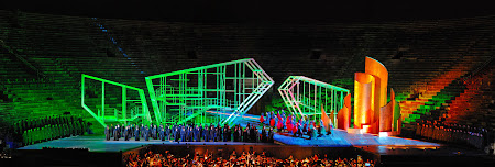 Spectacole Italia: Nabucco in Verona