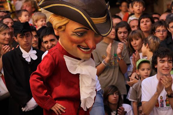 Els nans. Festa major de Solsona. Solsona, Solsonès, Lleida