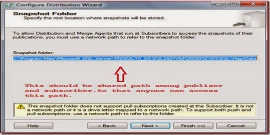 Snapshot Replication in SQL Server 2008: Part1 ~ DotnetPiper