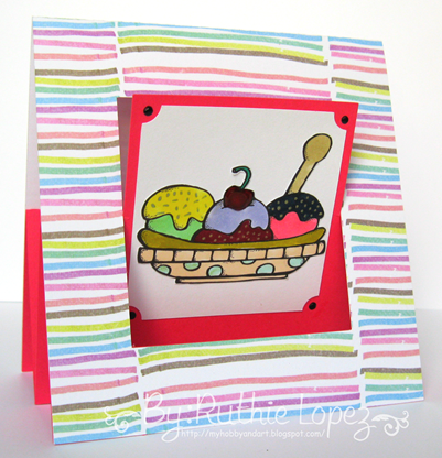 MelonHeadz Ilusdtations - Make Your own Sundae bundle - 613 Avenue Create - Ruthie Lopez DT