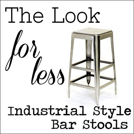 the look for less metal bar stools