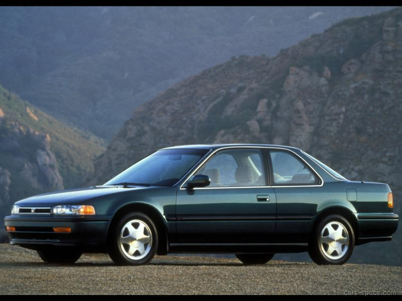 1991 Honda Accord Coupe Specifications, Pictures, Prices