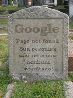 Morte do google