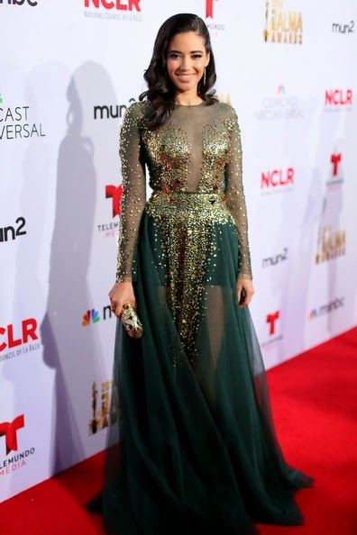 Edy Ganem attends the 2014 NCLR ALMA Awards