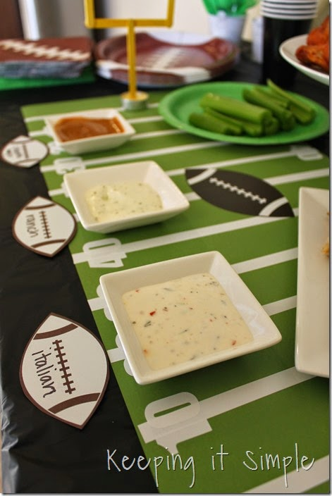 #ad Football-Game-Food-Ideas-Tyson-Wings #gametimehero (11)