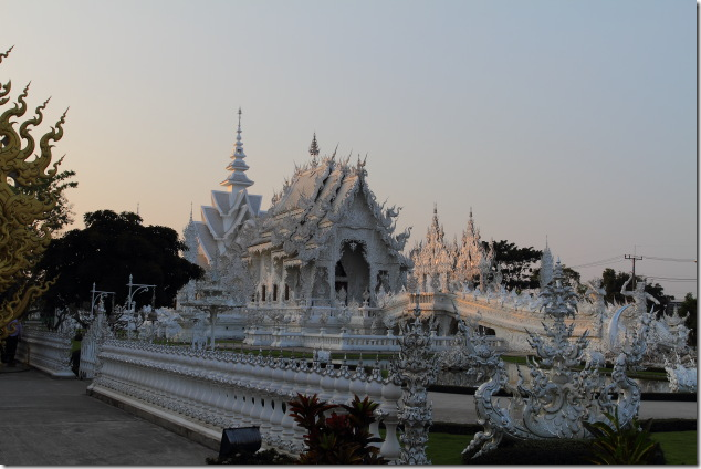 Exquisite White Temple at Chiang Rai, Thailand