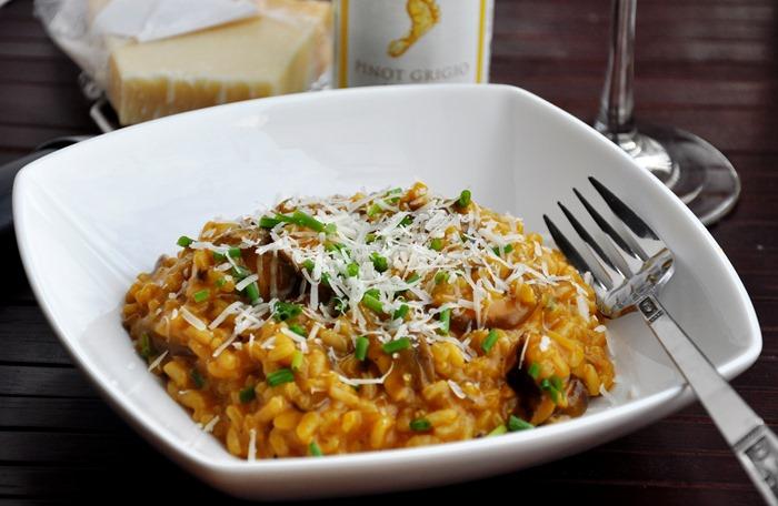 mushroom risotto 097