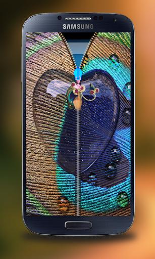 玩個人化App|心臟孔雀郵編屏幕鎖定免費|APP試玩