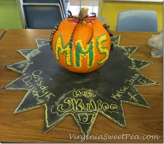 MMS Fall Festival Pumpkin