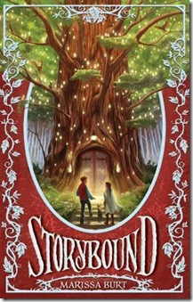book cover of Storybound by Marissa Burt