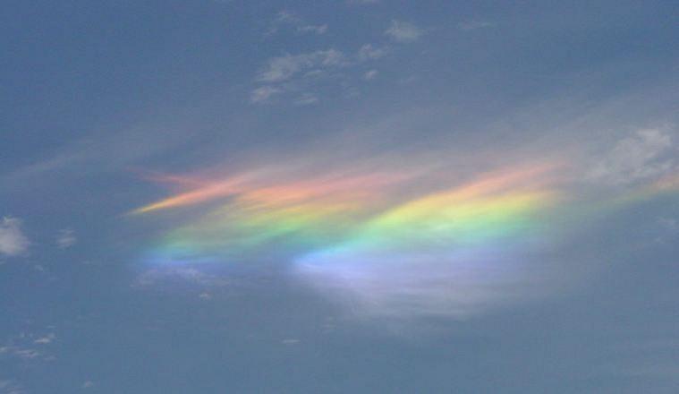 fire rainbows a rare cloud phenomenon amusing planet