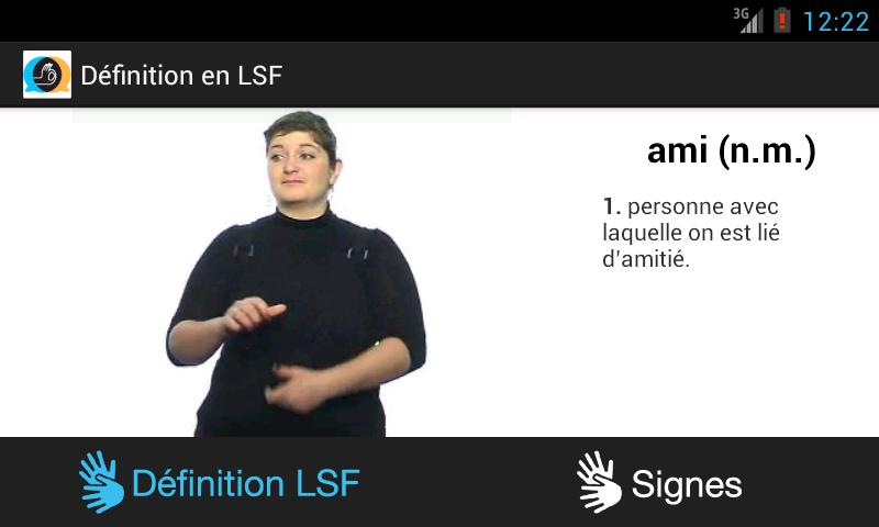 Elix - Langue des signes- screenshot