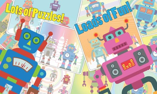 Robot Puzzle- screenshot thumbnail