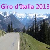 Giro d'Italia routes 2013