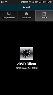 vDVR CLIENT (v3.2.1.6)- screenshot thumbnail