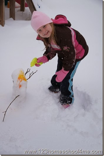Fun Winter Activity for Kids