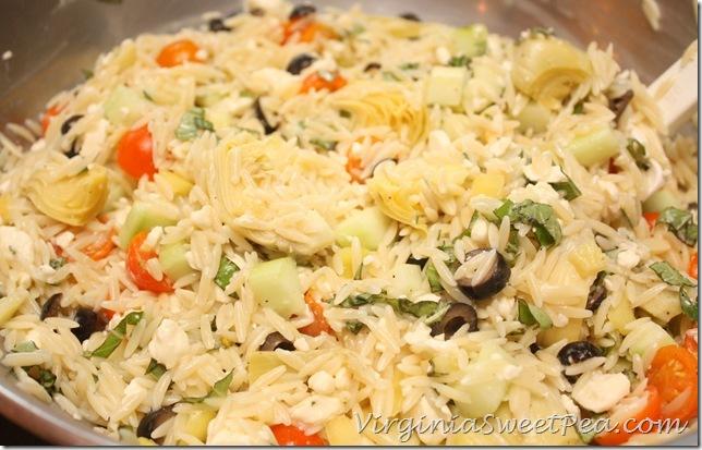 Orzo Salad4