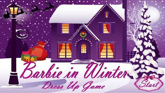 Barbie in Winter Dress Up Game - screenshot thumbnail