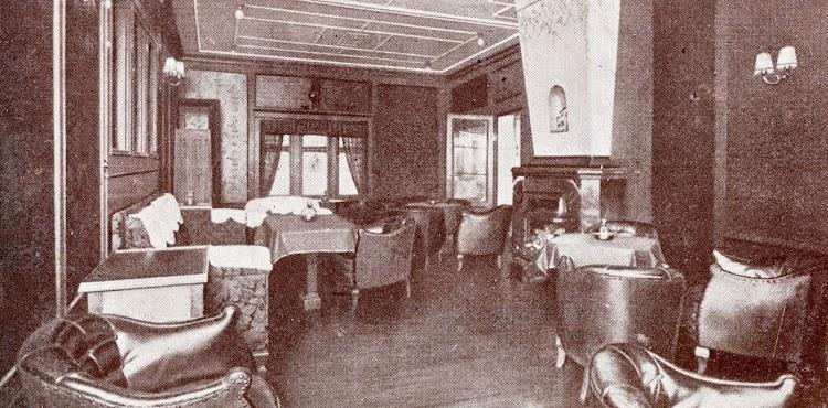 Salón fumador del CIUDAD DE SEVILLA. Memoria de la Compañía Trasmediterránea. Año 1.933.JPG