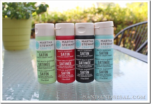 Martha Stewart Paints