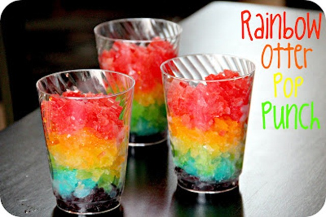 rainbow otter pop punch