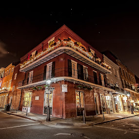 The French Spirit by Ivan Anchev - City,  Street & Park  Historic Districts ( cityscapes, new orleans, louisiana, french quarter, city by night, old houses, historic district )