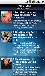 Disneyland Inside Out- screenshot thumbnail