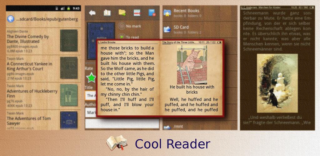 COOL READER 3-1-65 APK СКАЧАТЬ БЕСПЛАТНО