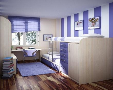 muebles-de-diseño-camas-para-niños