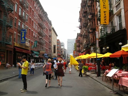 Tur culinar New York: Little Italy cafes and restaurants