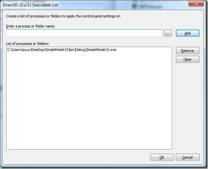 Graphic DNA: DirectX Control Panel and D3D Debug Output in D3D 9 x
