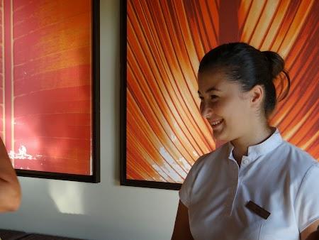 Irina de la hotel Tamassa